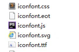 微信小程序(引用iconfont字体图标)